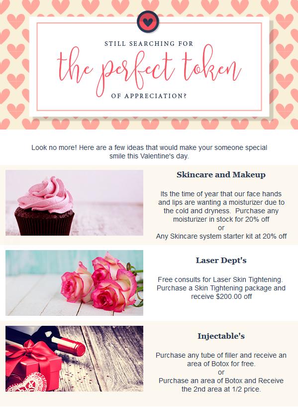 Valentines 2018 Gift Specials